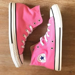 Kids Converse high tops sneakers size 3Y